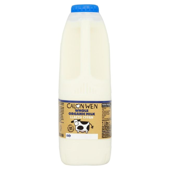 calon wen organic whole milk 2lt
